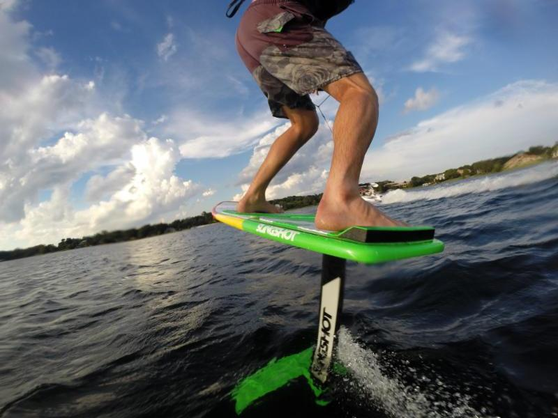 Try a New Hover Glide Wake Foil or Airchair Hydrofoil